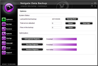 NETGATE Data Backup v1.0.405
