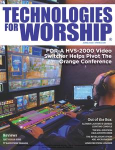 Technologies for Worship - June 2020