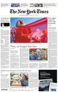 International New York Times - 19 August 2020