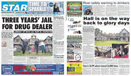Shropshire Star Shrewsbury Edition – December 06, 2017