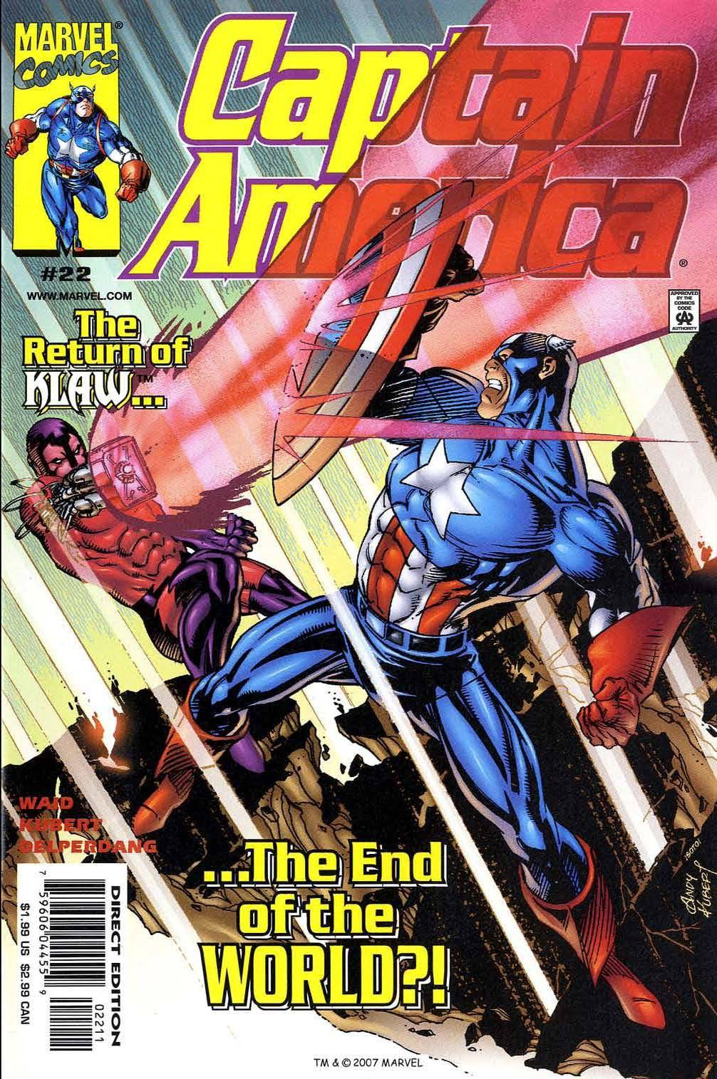 Captain America v3 022 (Complete Marvel DVD Collection)