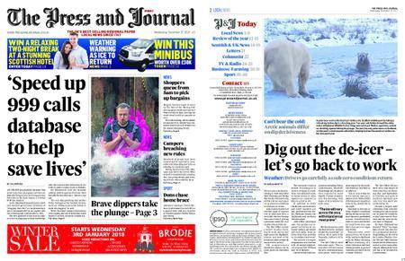 The Press and Journal Moray – December 27, 2017