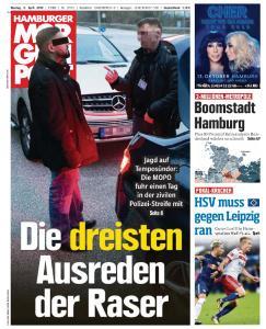 Hamburger Morgenpost - 8 April 2019