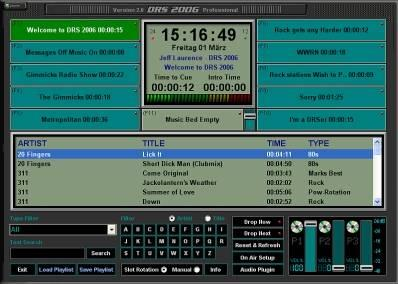 DRS 2006 Radio Automation Software