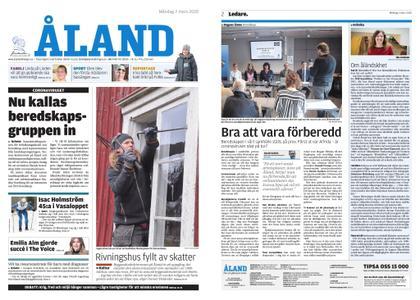 Ålandstidningen – 02 mars 2020