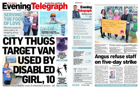 Evening Telegraph First Edition – April 08, 2019