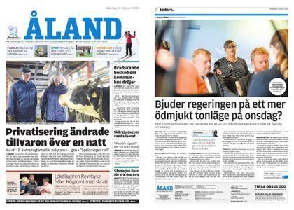 Ålandstidningen – 26 februari 2018