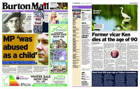 Burton Mail – November 05, 2018