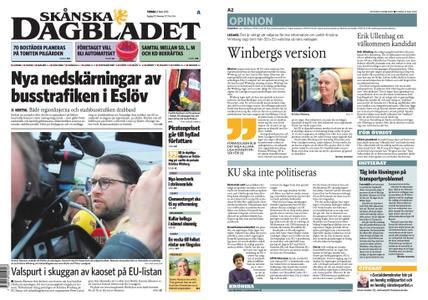 Skånska Dagbladet – 21 maj 2019