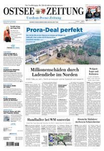 Ostsee Zeitung Wolgast - 14. Januar 2019