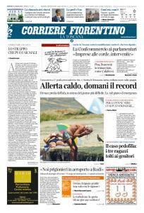 Corriere Fiorentino La Toscana - 31 Luglio 2018