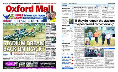 Oxford Mail – December 09, 2017