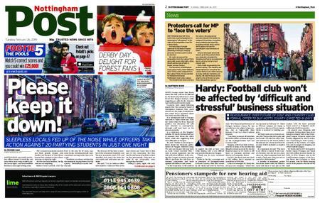 Nottingham Post – February 26, 2019