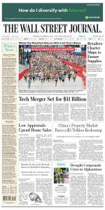 The Wall Street Journal - 11 October 2021