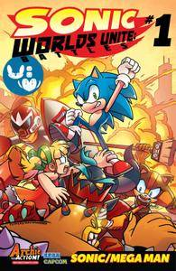 Sonic the Hedgehog - Worlds Unite Battles 001 2015 Digital