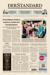Der Standard – 29. Oktober 2019