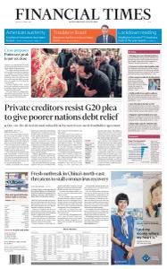 Financial Times Asia - April 20, 2020