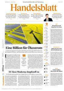 Handelsblatt - 7 Januar 2021