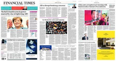 Financial Times USA – September 25, 2017