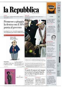 la Repubblica - 20 Gennaio 2018