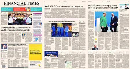 Financial Times Europe – 08 February 2018