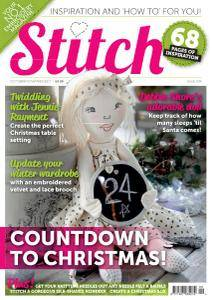 Stitch Magazine - October-November 2017