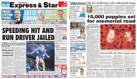 Express and Star Sandwell Edition – March 24, 2018