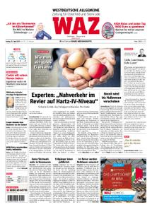 WAZ Westdeutsche Allgemeine Zeitung Oberhausen-Sterkrade - 12. April 2019