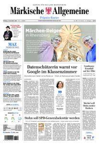 Märkische Allgemeine Prignitz Kurier - 06. November 2017