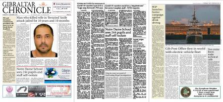 Gibraltar Chronicle – 08 December 2020