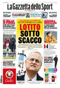 La Gazzetta dello Sport Roma – 06 novembre 2020