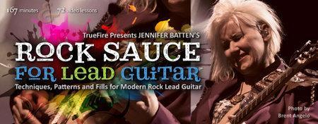 Jennifer Batten's Rock Sauce For Lead Guitar [repost]