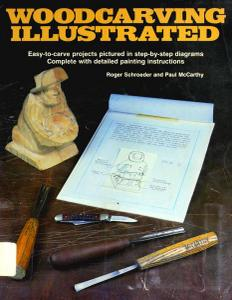 Woodcarving Illustrated: Book 1