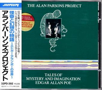 The Alan Parsons Project - Tales Of Mystery And Imagination: Edgar Allan Poe (1976) {1987, Japan}