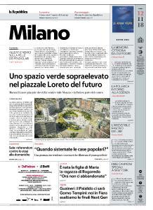 la Repubblica Milano - 12 Novembre 2018