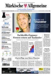 Märkische Allgemeine Luckenwalder Rundschau - 30. September 2017