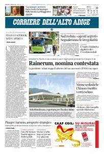 Corriere dell'Alto Adige - 17 Aprile 2018