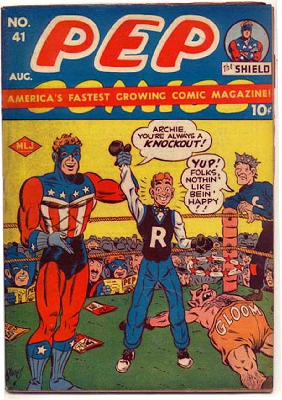 Some 40s  50s Archie  Friends -Pep Comics 41 1943