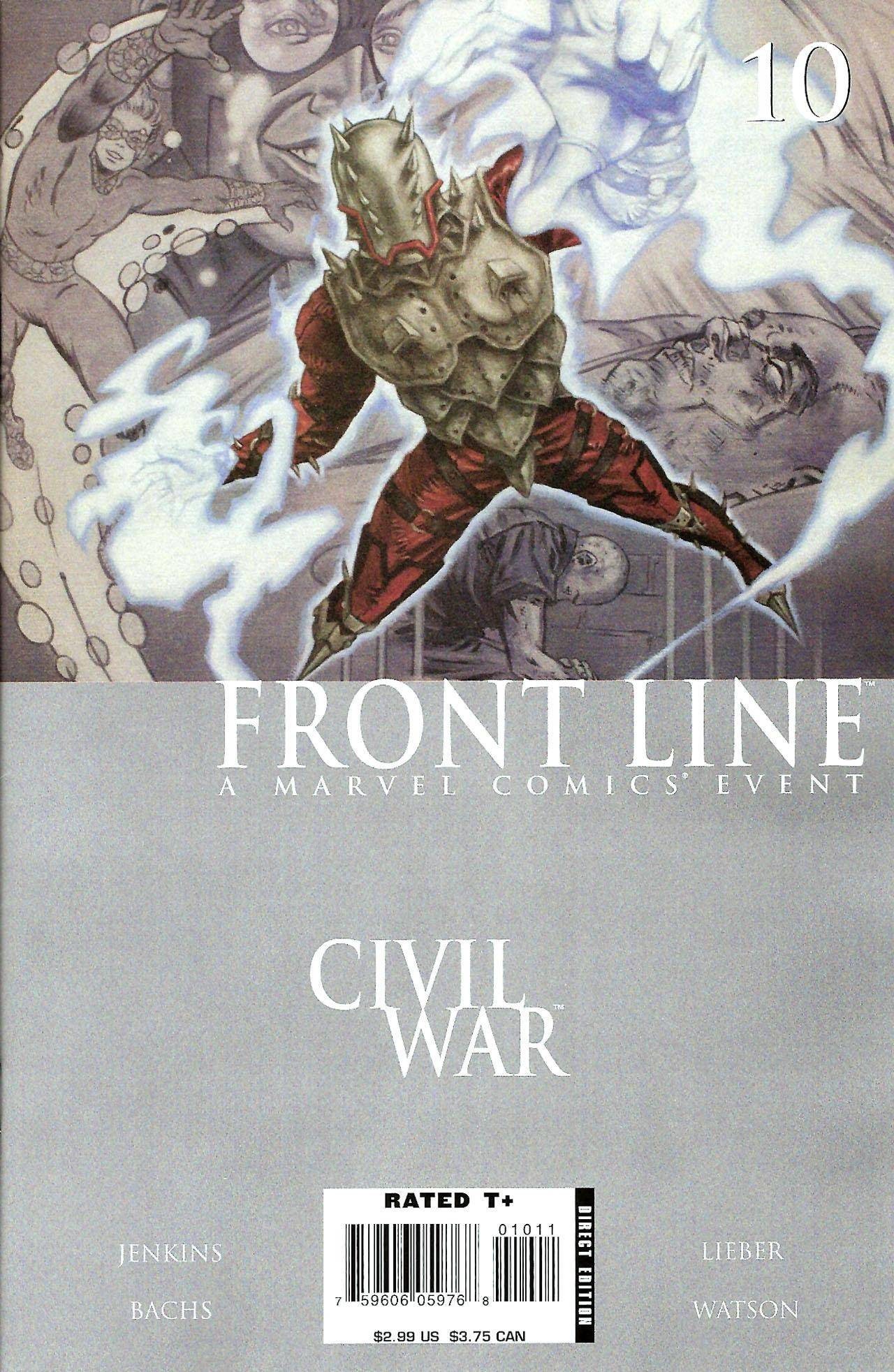 Civil War - Frontline 10