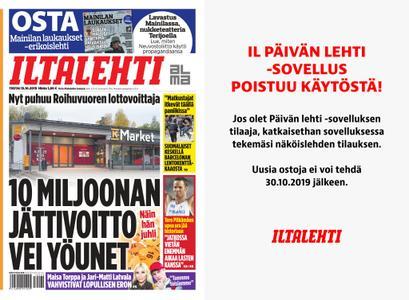 Iltalehti – 15.10.2019