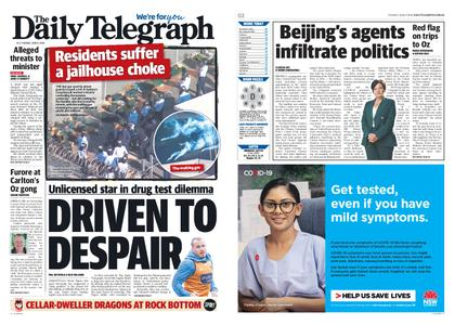 The Daily Telegraph (Sydney) – June 09, 2020