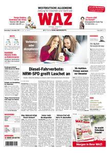 WAZ Westdeutsche Allgemeine Zeitung Oberhausen-Sterkrade - 15. November 2018