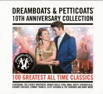 VA - Dreamboats & Petticoats: 10th Anniversary Collection (2016) {4CD Box Set}