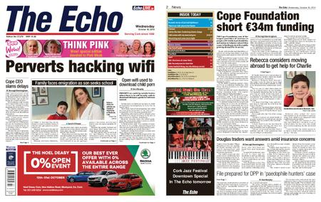 Evening Echo – October 16, 2019