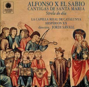 Jordi Savall & Hesperion XX - Alfonso X El Sabio - Cantigas de Santa Maria (1993) {Astree-Auvidis E 8508}