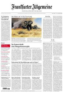 Frankfurter Allgemeine Zeitung F.A.Z. - 25. Oktober 2018