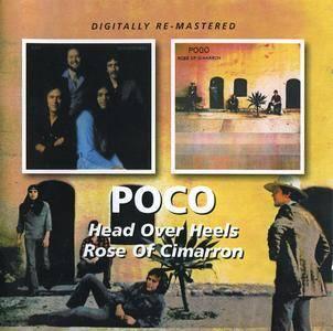Poco - 'Head Over Heels' (1975) + 'Rose Of Cimarron' (1976) 2 LP in 1 CD, Remastered 2011