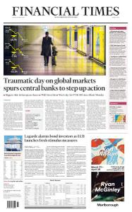 Financial Times Middle East - March 13, 2020