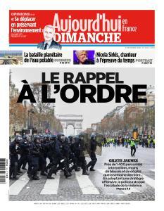 Aujourd'hui en France du Dimanche 9 Décembre 2018