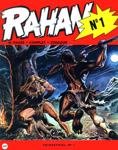 Rahan - Tome 1 (Janvier 1972)